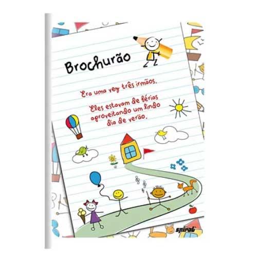 Caderno de Brochura Grande