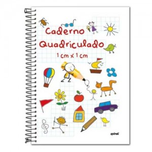 Caderno Quadriculado